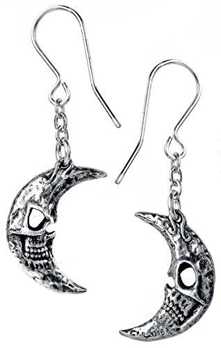 Alchemy Gothic M'era Luna Crescens - Tragicom Coppia di Orecchini