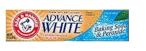 Arm & Hammer Advance Zahnweiß Zahnpasta Baking Soda & Peroxide Fresh Mint 125ml (3er-Pack)