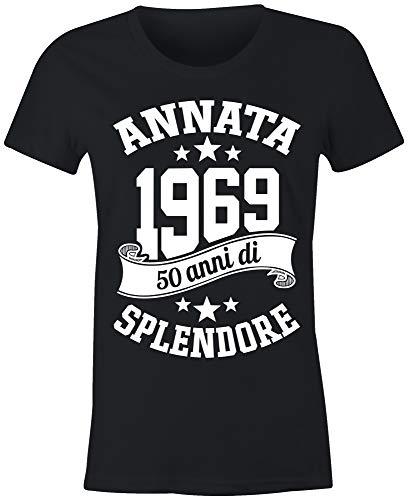 34399c1c5392 6TN Le Donne realizzate nel 1969 50 Anni di Stupenda Maglietta del 50esimo  Compleanno (Medio