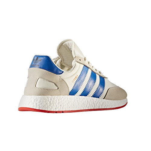 Adidas Original Iniki Runner I-5923, BB2092. Chaussures Homme. Sneaker Navy. Off White/Blue/Core Red