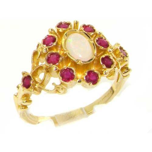 ungewhnliche-groe-luxus-damen-ring-9-karat-gold-gelbgold-mit-hallmarks-opal-rubin-verfgbare-gren-50-