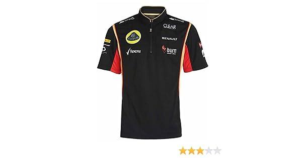 Burn Sponsor 2013 POLO Shirt Children kids Formula One 1 Lotus F1 NEW