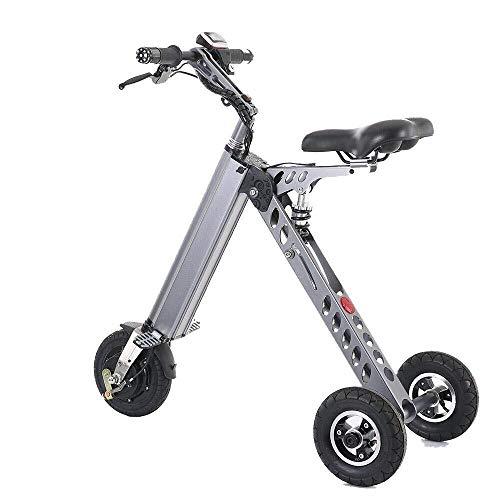 Elektroroller Faltbares Dreirad mit 3 Gängen Geschwindigkeitsbegrenzung 6-12-20KM / H Volle Ladung 30KM Reichweite Besonders geeignet for Menschen, die Unterstützung bei der Mobilität und Reisen benöt
