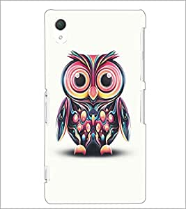 SONY XPERIA Z2 OWL Designer Back Cover Case By PRINTSWAG