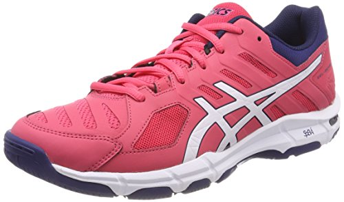 ASICS Gel-Beyond 5, Scarpe Sportive Indoor Donna, Rosso (Rouge Red/White/Indigo Blue 1901), 39 EU