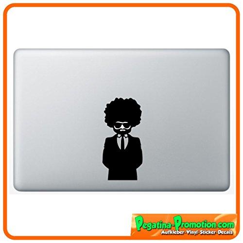 icker für Macbook Air 11 13, Macbook skin 13, 15, 17 Zoll inch Apple Notebook Aufkleber ohne Hintergrund Tattoo Vinyl PEGATINA Apple Mac Hintergrund (Lustige Afro)