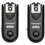 Yongnuo Upgrade RF-603 II C1 Flash Trigger/Wireless Shutter Release Transceiver Kit for Canon Rebel 300D/350D/400D/450D/500D/550D/1000D Series
