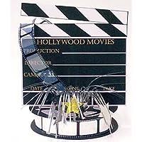 Hollywood Foil Spray Centrepiece by Amscan
