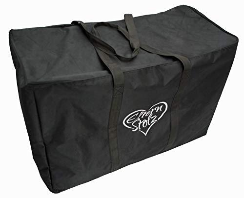 Elternstolz Transporttasche für Kinderwagen mit Fixiergurt (standard) (Uppababy Vista)