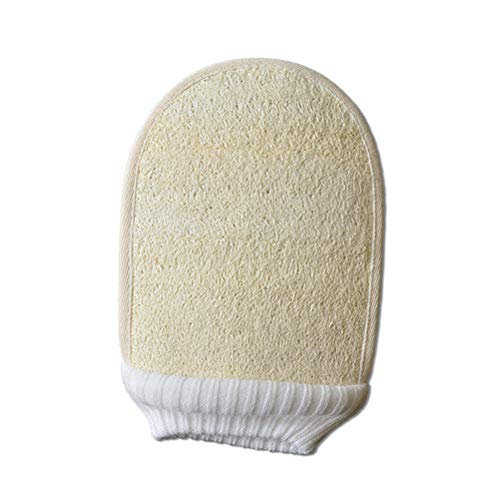 HEALIFTY 2 Stücke Peeling Handschuhe Bad Mitt Luffa Handschuhe Peeling Dusche Badetücher Tiefenreinigung Exfoliator Mitt -