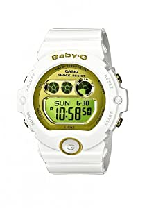 Casio BG-6901-7ER - Reloj digital de cuarzo para mujer con correa de resina, color blanco de Casio