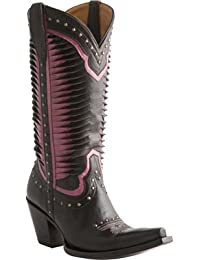 Fashion FashionFW1005 - Botas de Vaquero Mujer, Color Negro, Talla 36