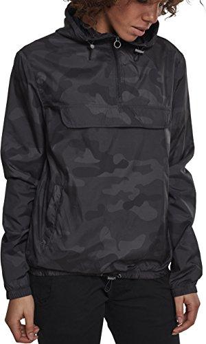 Urban Classics Damen Jacke Ladies Camo Pullover, Mehrfarbig (Darkcamo 00707), XXXX-Large (Herstellergröße: 4XL)