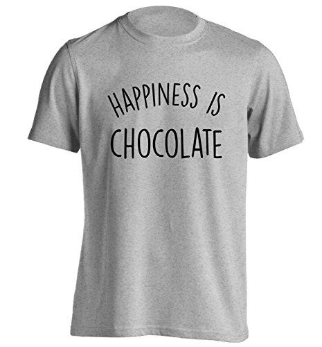 Flox Creative  Damen T-Shirt, Slogan Gr. XX-Large, Grau - Grau (Adult Chocolate Bar)