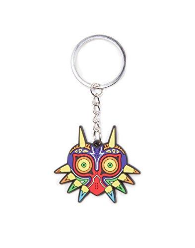 Unbekannt Zelda fedke221218zel Majoras Maske Gummi Schlüsselanhänger -
