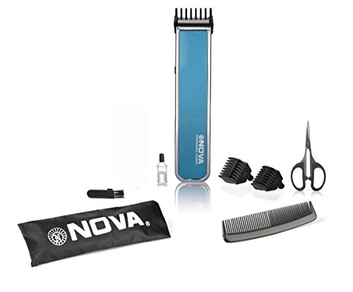 Nova NHT-1055 Pro Skin Advanced Friendly Precision Trimmer (Blue)