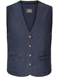 JAN VANDERSTORM Herren Weste TORELL in Übergröße. Große Größen in guter Qualität aus 100 % Baumwolle., ,