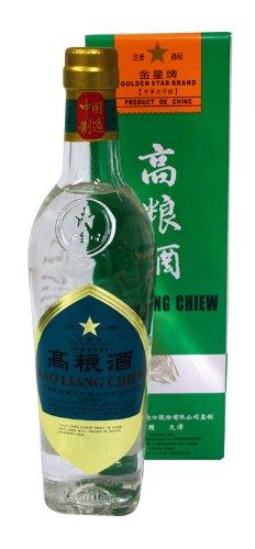 Kao Liang Chiew chinesische Getreide-Spirituose 62%vol