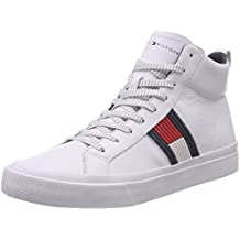 huge selection of 52534 96ac4 tommy hilfiger scarpe uomo - Bianco - Amazon.it