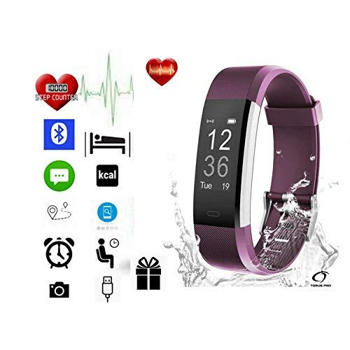 Fitness Tracker by Torus Pro | Smart Watch, Fitness Watch, Mens Watch,...