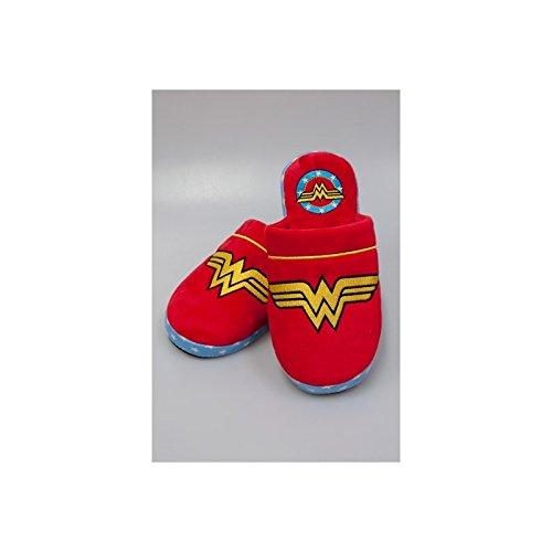 Wonder Woman Logo Chaussons multicolore