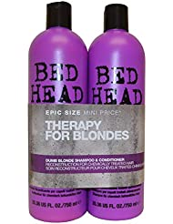 Tigi BED HEAD Tween Duo Shampoo and Conditioner Dumb Blonde, 1er Pack (1 x 1500 ml)