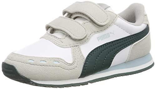 V Inf, Unisex-Kinder Sneakers, Weiß (Puma White-Gray Violet-Ponderosa Pine), 27 EU ()