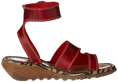 Fly London - Tily722fly, Sandali Donna Rosso (red 003)