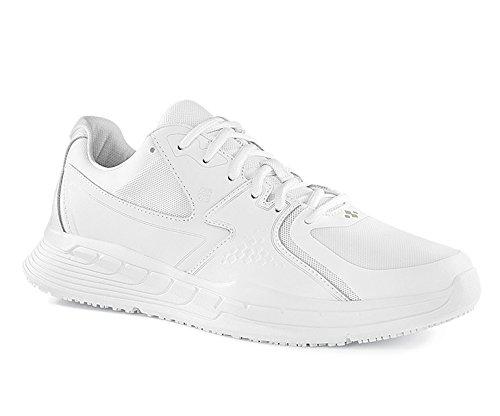 Shoes for Crews 29166-43/9 CONDOR Rutschhemmende Turnschuhe, Größe 43 EU, Weiß