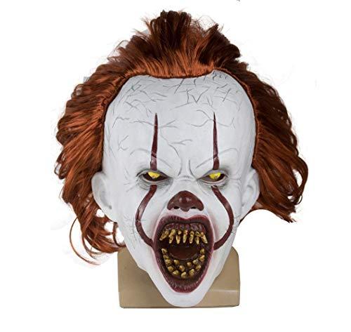 Clown Dekoration Für Halloween - snaked cat Entzückende Katzenmaske mit LED-Beleuchtung,
