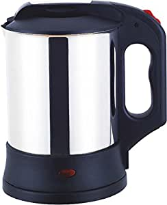 SNOWBIRD AUTOMATIC CORDLESS ELECTRIC KETTLE / BLACK AND SILVER