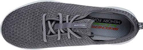 Skechers Herren Burst-Donlen Sneaker Grau (Grau)