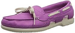 Crocs Beach Line Hybrid Boat Women Shoe in Purple