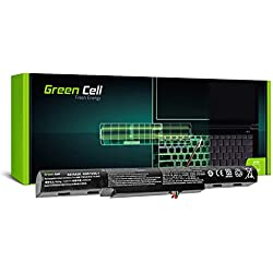 Green Cell® Standard Série AS16A5K Batterie pour Acer Aspire E 15 E15 E5-575 E5-575G E 17 E17 E5-774 E5-774G Ordinateur PC Portable (4 Cellules 2200mAh 14.6V Noir)