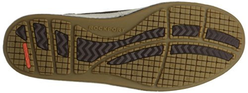 Rockport Mens Harborpoint Lace to Toe Chocolate Suede