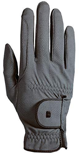 Roeckl Sports Roeck Grip Winter Handschuh, Unisex Reithandschuhe, Anthrazit, 7,5