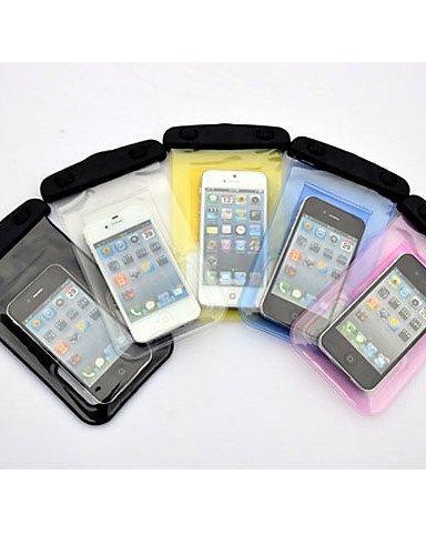 GXS Outdoor Aktivitäten Trompete Handy wasserdichte Tasche mit Kopfhörer (verschiedene Farben) Blau - blau