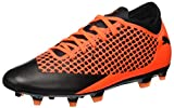 Puma Future 2.4 Fg/AG, Scarpe da Calcio Uomo, Arancione Black-Shocking Orange 002, 42.5 EU