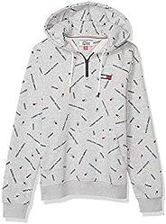 Tommy Hilfiger Men's Adaptive Hoodie Sweatshirt with Extended Zipper