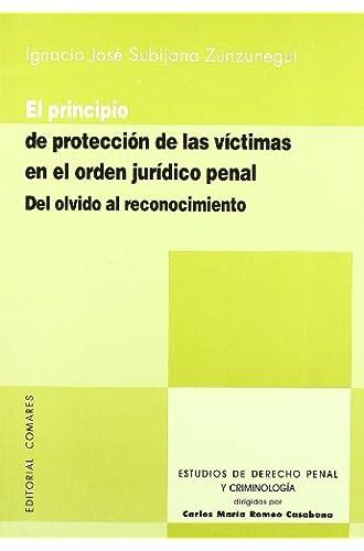 Principio De Proteccion De Las Victimas En El Orden Juridico Penal
