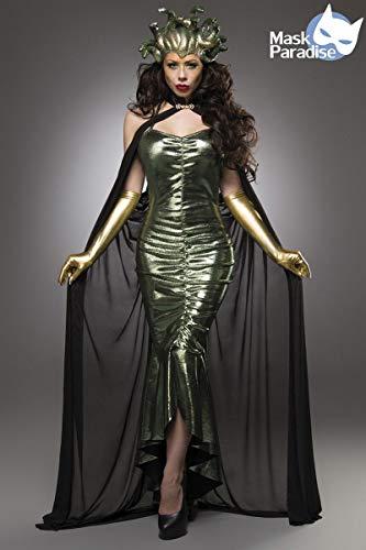 Mask Paradise Mystic Medusa Kostüm Damenkostüm Medusakostüm Karneval Fasching (Medusa Kostüm Frauen)