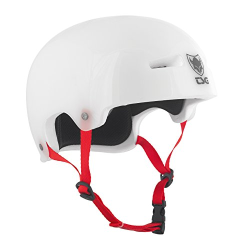TSG Helm Evolution Graphic Special Clear Weiß, S/M (54-56 cm)