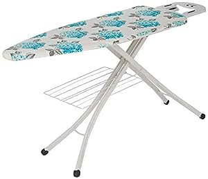 Amazon Brand - Solimo Jupiter Foldable Ironing Board with Multi Function Tray, Large