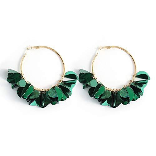 Cyuang Ohrringe Ohrstecker Ohrhänger Fringe OhrringeHandgefertigte Große Perlen Statement Ohrringe Für Frauen Party Baumeln Ohrringe Geschenk