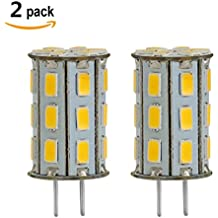 GY6.35 LED 12V AC/DC 5W Blanco cálida Blanco Cálido 3000K 35W halógena reemplazo G6.35 bulbo de lámpara de escritorio