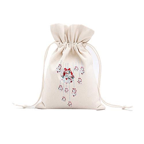 Weihnachtskreativer Geschenktasche Drawstring Bag 14, Malloom Weihnachtskleine Geschenk-Tasche, die Kordelzug-Strahl-Port-Speicher-Beutel-Geschenk-Beutel druckt