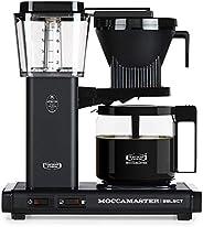 Moccamaster KBG 741 Select Kaffemaskin, Matt Svart