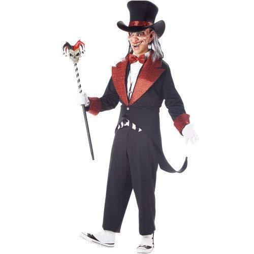 Unbekannt Psycho Sideshow Circus Barker Erwachsenenkostüm XL (Psycho Circus Kostüm)