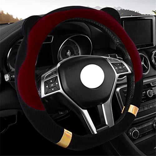 Ogquaton Couverture de volant de voiture de qualit/é sup/érieure//couvre-manchon anti-poulie bleu