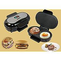 WLM Mini máquina de Carne, Tortilla de Huevo de Hamburguesa, máquina de panini Sandwich